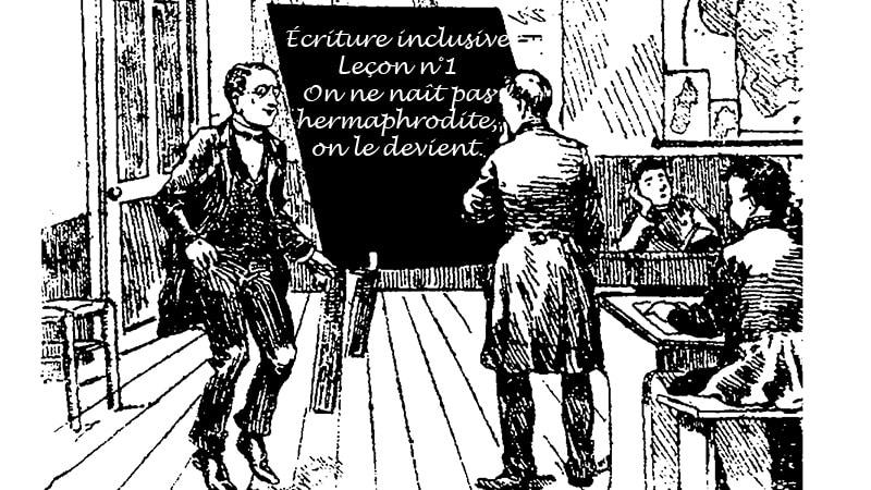 écriture inclusive - L'Incorrect